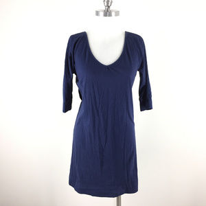 Lilly Pulitzer S Navy Blue tunic T shirt dress